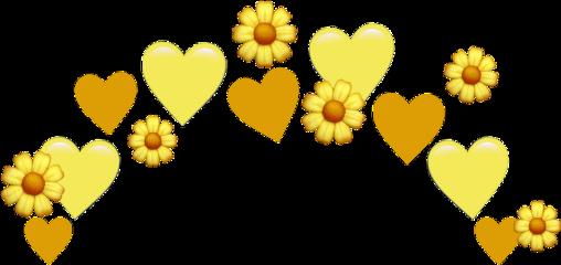 yellow crown crownsticker crownhearts crownemoji crownflower cute tiktok aesthetic heartcrown emoji angel halo emojiiphone pngbyet background emojicrown emojiselfie sticker yellowhearts yellowaesthetic heart hearts flower rose freetoedit