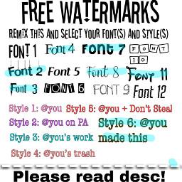 watermark freetoedit