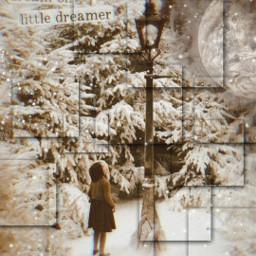 narnia lanternwood lantern lucy lucypevensie moon winter snow freetoedit