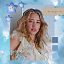 lili blue freetoedit