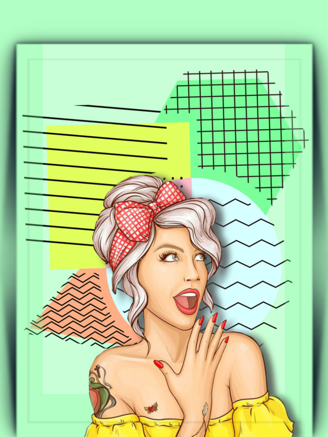 #popart #woman #aesthetic #colorful #abstract #pattern #geometric #3deffect #stickerart #coloradjust #becreative #be_creative #makeawesome #heypicsart #picsartmaster #masteredit #myedit #madewithpicsart
