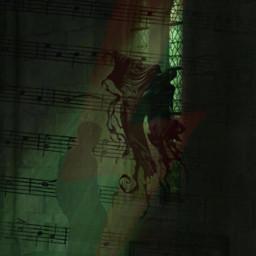 dracomalfoy draco poudlard slytherin srcmusicalnotes musicalnotes freetoedit
