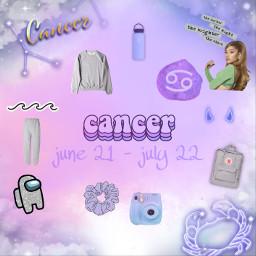 cancerzodiac zodiac freetoedit