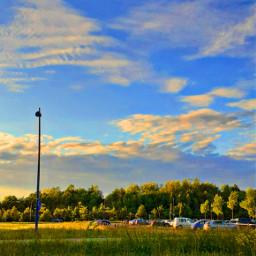 aestheticsky sky aesthetic clouds nature outside sun