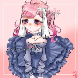art animedrawing pinkhairgirl pinkaesthetic animecharacter animeartstyle gachaoc gachacluboc winner firstplace myartnotyours artsyfartsy