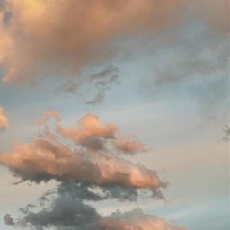 freetoedit love you clouds sky