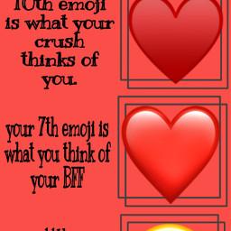 emoji heart my i ill freetoedit