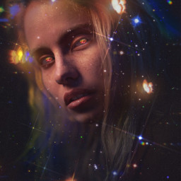 galaxy stars star noise edit sticker glitter glittercloud butterfly dress purple strawberry magic freetoedit unsplash