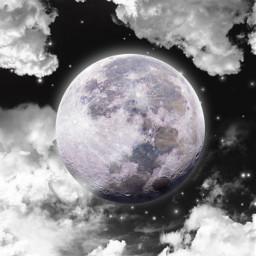 freetoedit background backgrounds moon sky myedit araceliss night light moonlight