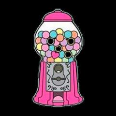 mystickeredit mystickerremix gumballs gumballmachine candy sweets freetoedit