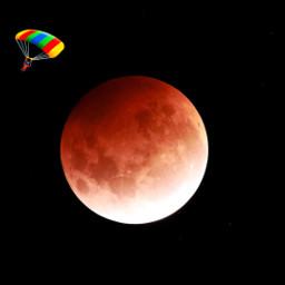 freetoedit freetoremix freetouse freetoshare moon lunarskydiving parachuting space lunareclipse atmosphere themoon nightsky spaceisbeautiful earth mars planets ourmoon light