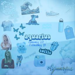 aquarius aqua aquarium zodiac zodiacsigns freetoedit