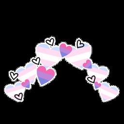 transgender trans bisexual bi crown heartcrown transgenderbisexualcrown pride pridemonth2021