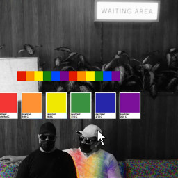 pride rainbow colors june gay computer vibe people photography surreal edit myedit