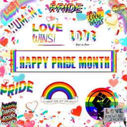 happypridemonth lgbtpride freetoedit