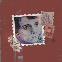 massimoranieri stencil stamp vintageaesthetic quote fanart