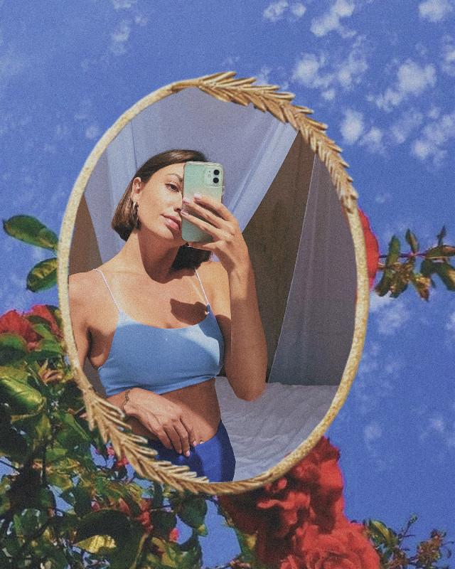 #freetoedit #mirror #mirrorselfie #mirroreffect #outdoormirror