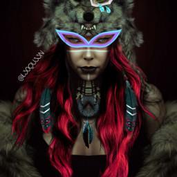 warriorqueen wolf warriorwoman eyestickers srctrendyeyestickers trendyeyestickers