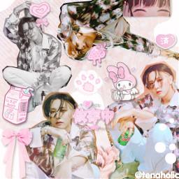 7319 renjun renjunedit nctrenjun renjunnct nct nctdream huangrenjun nctu pink hotsauce cute babie