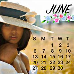 katgraham thevampirediaries bonniebennett june summer calendar2021 freetoedit srcjunecalendar2021 junecalendar2021