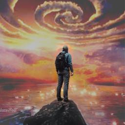 freetoedit remixed cloudspiral surreal