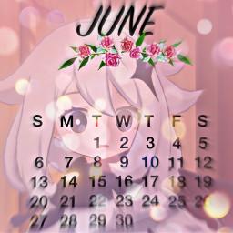 paimon genshin june calendar birthday