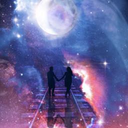 mastershoutout doubleexposure galaxy makeawesome keepitsimple123 freetoedit