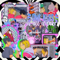 elliespridemonthcontest anime manga comic freetoedit madebyme tokyoswt icedbils swag aesthetic indiekid grunge overlay premade png kenma kenmaedit kenmakozume haikyuu kuroo kurooedit kurootetsurou kenmaxkuroo kuroken haikyuuedit