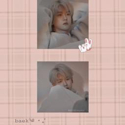 baekhyun exo wallpaper soft freetoedit