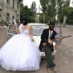 marrige guns groom love