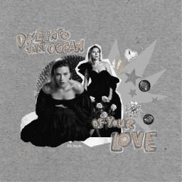 scarlettjohansson picsart collage aesthetic freetoedit collagedit overlay black vogue tumblr pearl collages blackwidow scarlett scarlettjohanssonedit