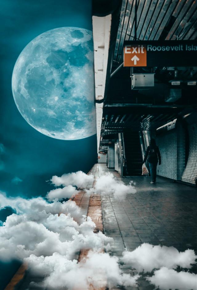 #surreal #subway #trainstation #nyc #edited #photomanipulation #cuttool  #imagination #fantasy #creativity #filters #madewithpicsart #freetoedit  Background from Picsart
