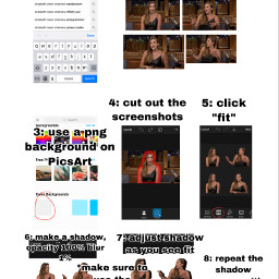 freetoedit premade celeb tutorial stickerpack
