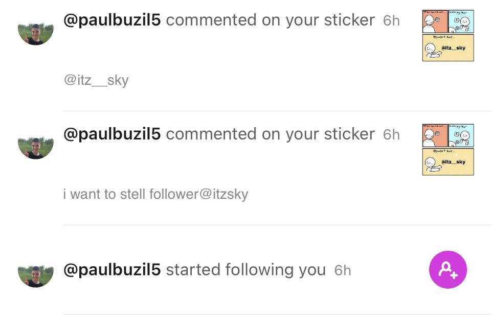 Do any of yall know this b1tch? @paulbuzil5 leave my f-cking accountttttt #ugh