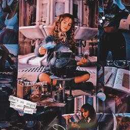 hermionegranger harrypotter hogwarts aesthetic freetoedit
