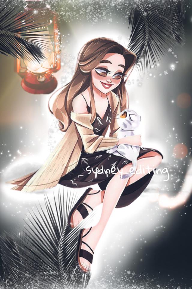 Thank you to everyone who votes! 🏮 #challengeaccepted #floatinglantern #lantern #lamp #magiclamp #palmtreeleaves #palmtree #magic #whitemagic #cartoon #cartooncat #cartoongirl #girl #cat