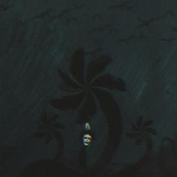 freetoedit clown walking dark night sky spiral rain trees overlay effect dunce hat crows