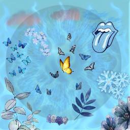 blue blueaesthetic freetoedit