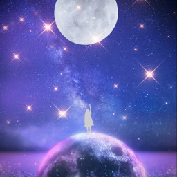 moonlovers madewithpicsart remix surreal surrealism picsart fantasyart masterstoryteller freetoedit