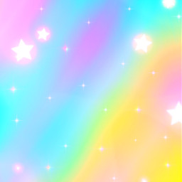 freetoedit glitter sparkle galaxy sky stars rainbow prism gradient pastel cute aesthetic kawaii colorful art neon glow overlay background wallpaper