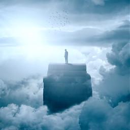 freetoedit books clouds man sky