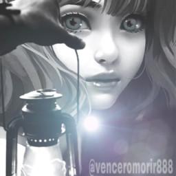 light girl surprise ircthemagiclamp themagiclamp freetoedit