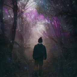 boy obscury floresta freetoedit