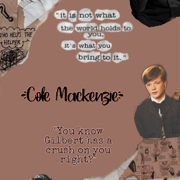 colemackenzie annewithane cole awae freetoedit