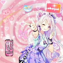 anime_kwaii rosa freetoedit