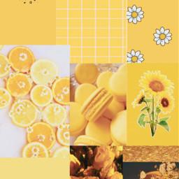 interesting art simple freetoedit remixit picsart simpleesthetique esthetiquewallpapers aestheticwallpaper yellow yellowwallpaper