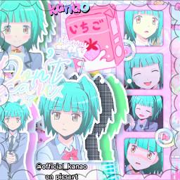kayanokaede kayano assassinationclassroom anime animecomplexedits complexedit soft freetoedit