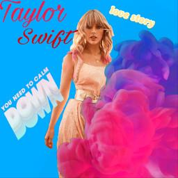 taylorswift youneedtocalmdown lovestory freetoedit