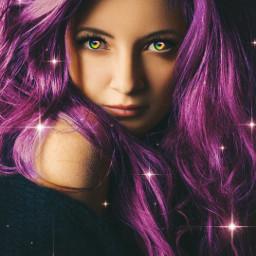 remixit coloreyes purplehair freetoedit