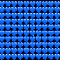 bluehearts blue hearts freetoedit
